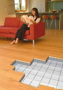 underfloor heating benefits