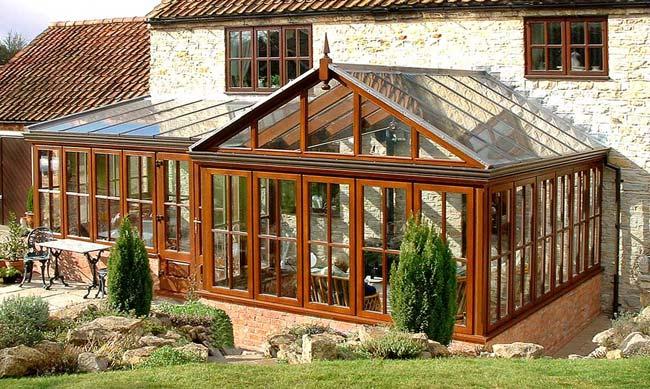 wooden conservatories prices