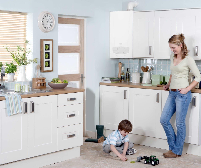 How to install a combi boiler diy combi boiler for Kitchen boiler housing unit