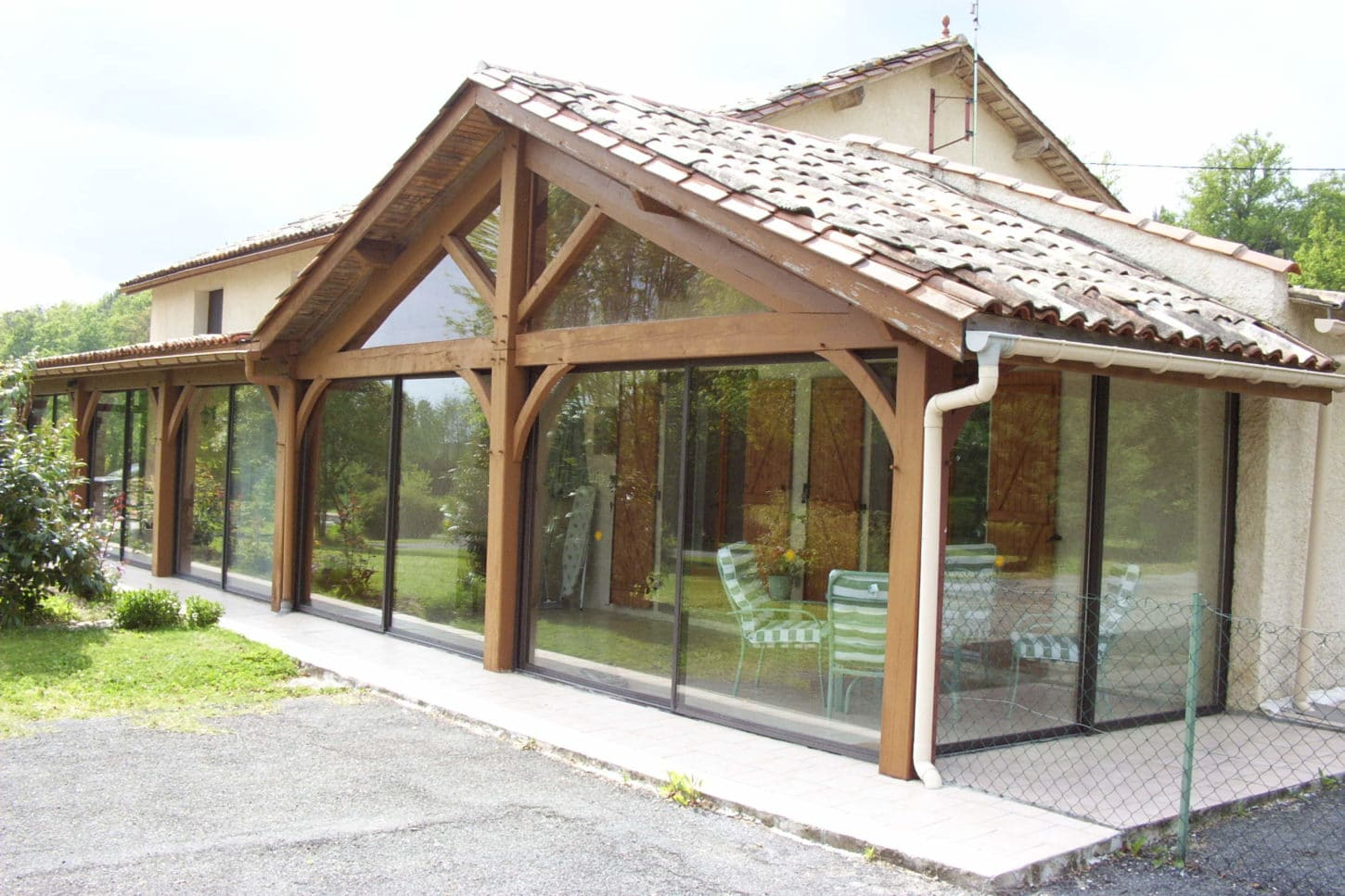 wooden-conservatory