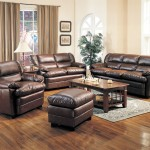 leather-living-room