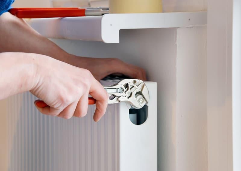 How to fix noisy heating