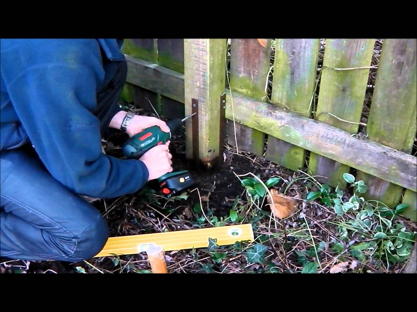 Concrete Spur Fence Post Repair Tips For How To