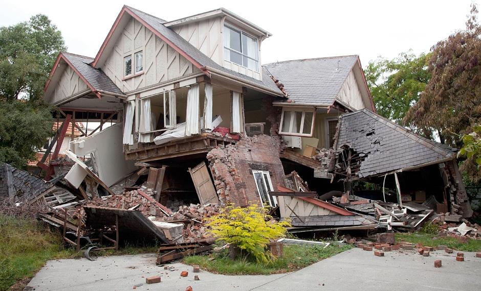earthquake recovery plan