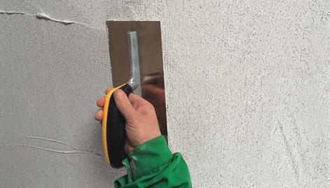 external wall rendering