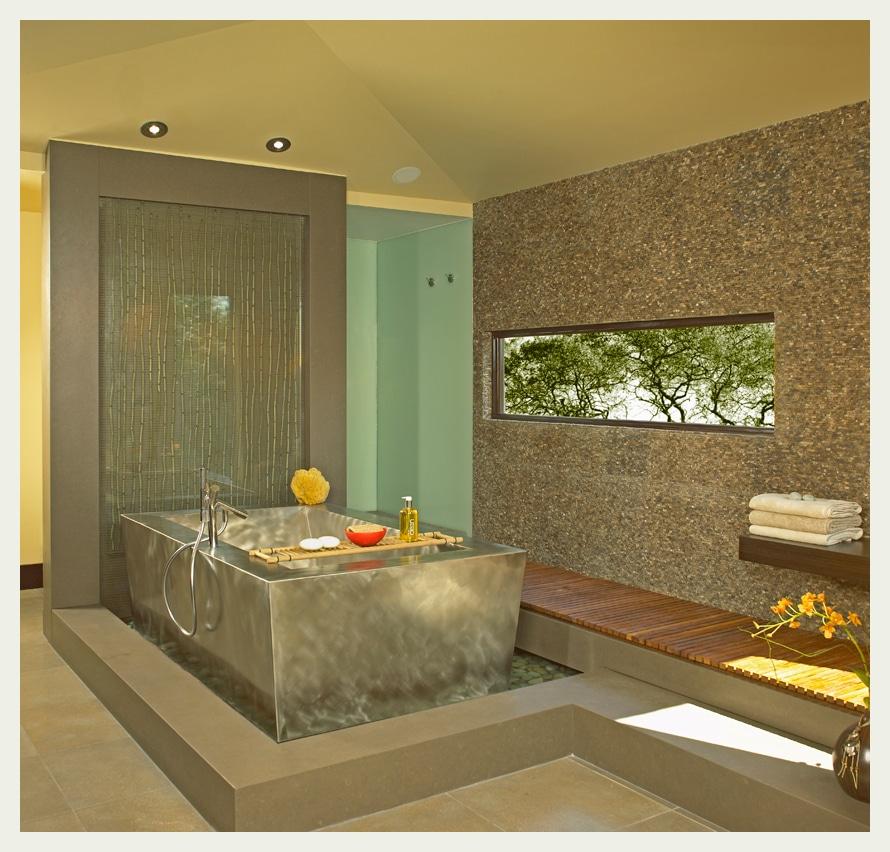 asian bathroom style