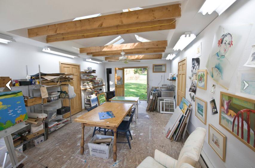 garage art studio