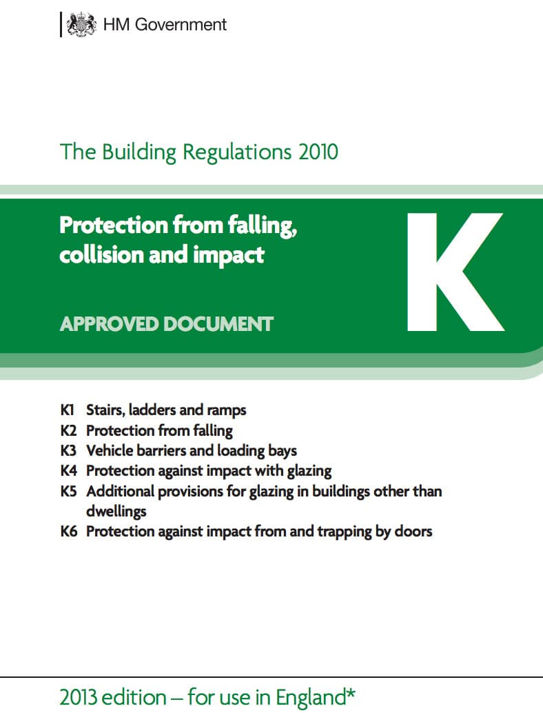 Bathroom window regulations -  A Guide To Building Regulations Part K