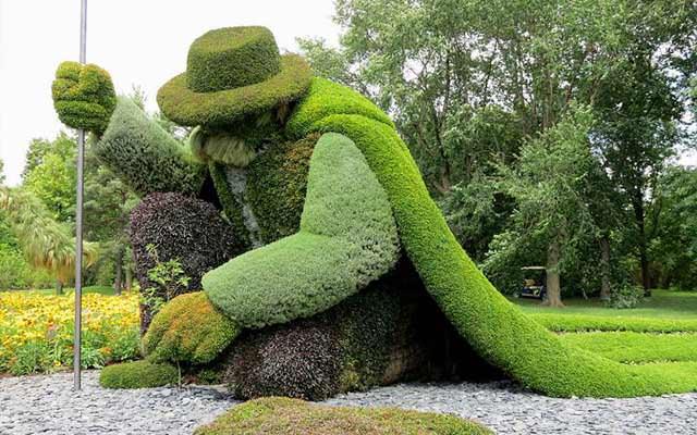 eclectic garden design ideas & photos