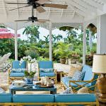 Coastal Living - Go for glamour on your patio. Design a true outdoor living room