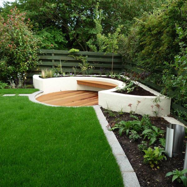 House Landscape Images: Contemporary Garden Design Ideas & Photos