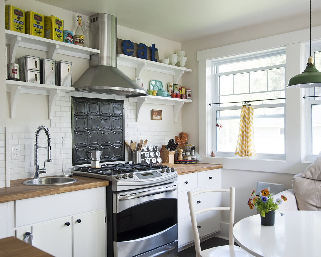 organized, functional, and stylish country kitchen