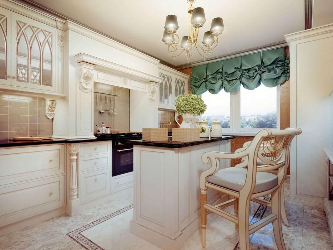 rustic cream kitchen
