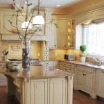 gorgeous cream kitchen