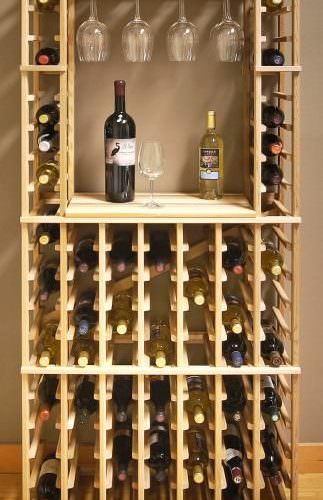 Custom Wine Rack need to apply this somehow for a hat rack.
