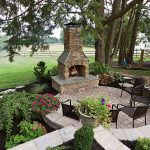 Garden Excellent Rustic Patio Design