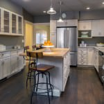 trending grey kitchen design