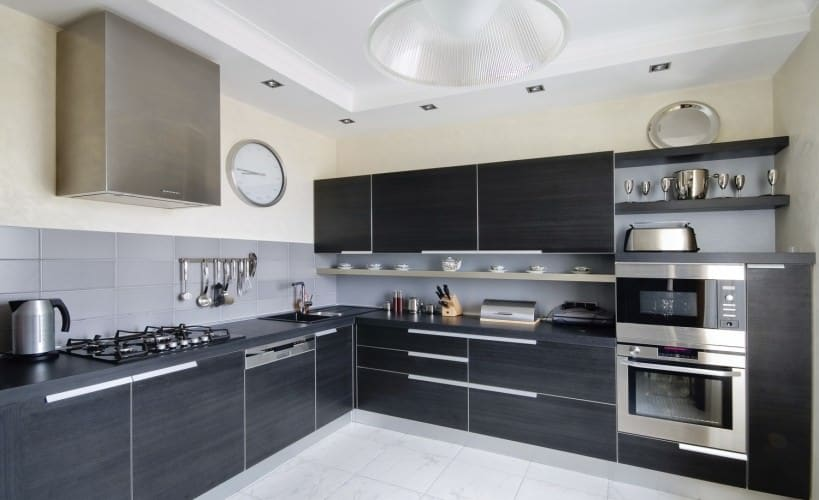 innovative grey kitchen