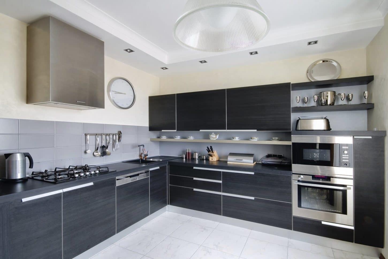 innovative grey kitchen