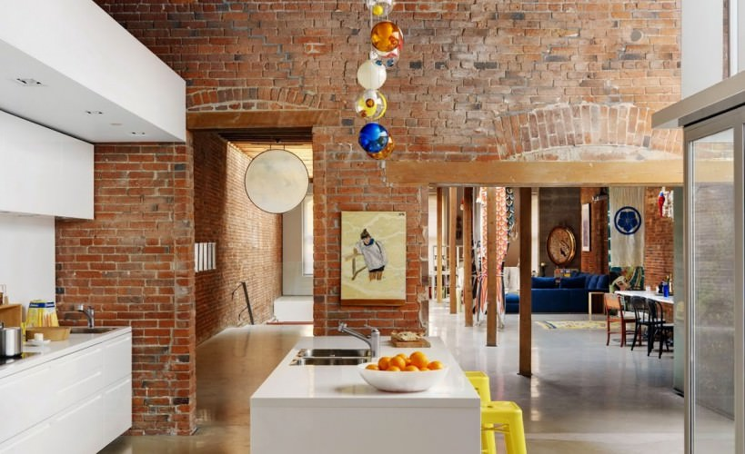 creative industrial kitchen to get you in the mood