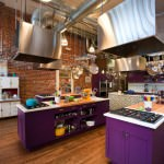 chic industrial kitchen