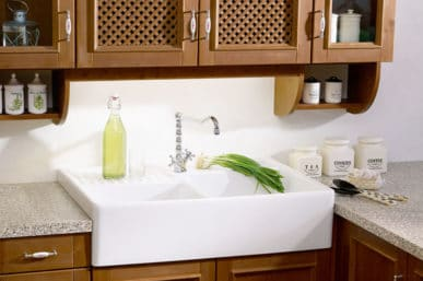 simple kitchen sink idea
