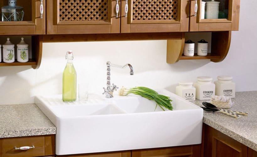 simple kitchen sink idea