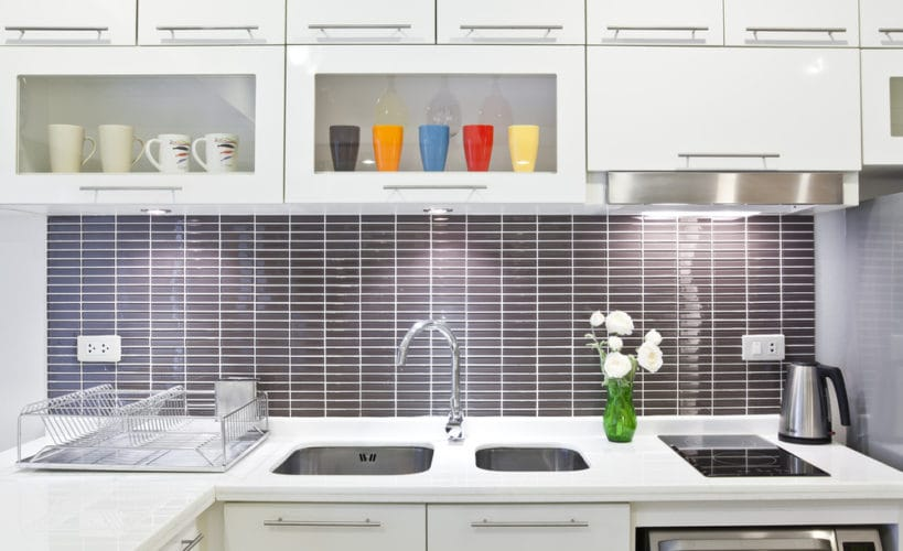 kitchen sinks for added touch of simplicity