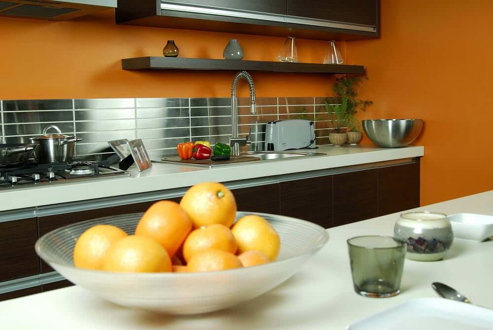 kitchen wall tiles with a modern look