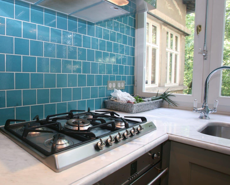 Blue Kitchen Wall Tiles | Euffslemani.com