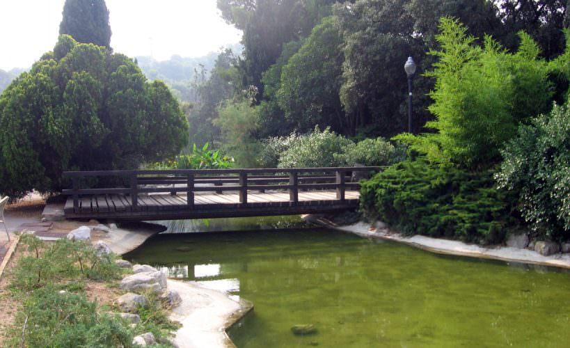 Llista de parcs i jardins de Barcelona