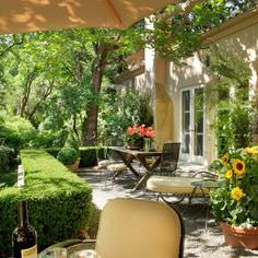 Love this beautiful French Country patio.