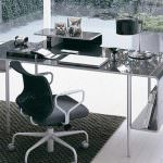 Metal surface desk Ucami designer furniture