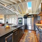 open plan kitchen with the wow factor