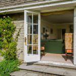 Patio Doors to Large Estate Garden