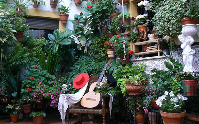 Patios de estilo andaluz