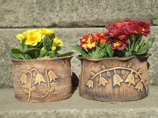 Potttery Ideas for African Violet Pots