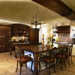 rustic kitchen offering timeless countryside design
