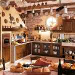 minimalist rustic kitchen type with the contemporary style