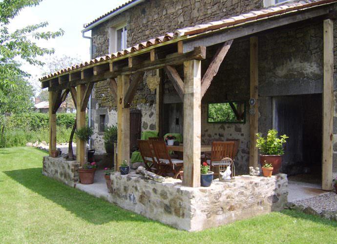 Rustic Outdoor Patio Design Ideas