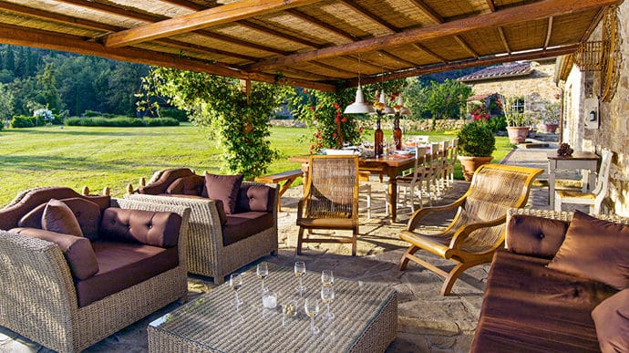 Tuscan Patio Decorating Ideas