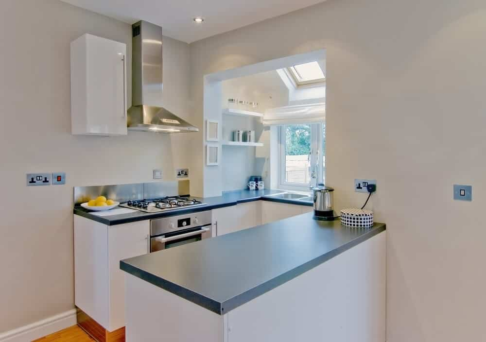 highly optimized small kitchen for people always on the go