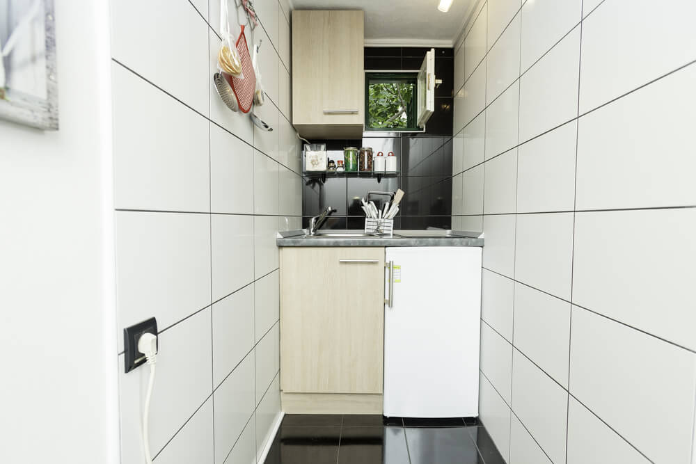 small, but highly functional kitchen