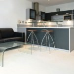 stunning small open plan kitchen and living room for busy individuals