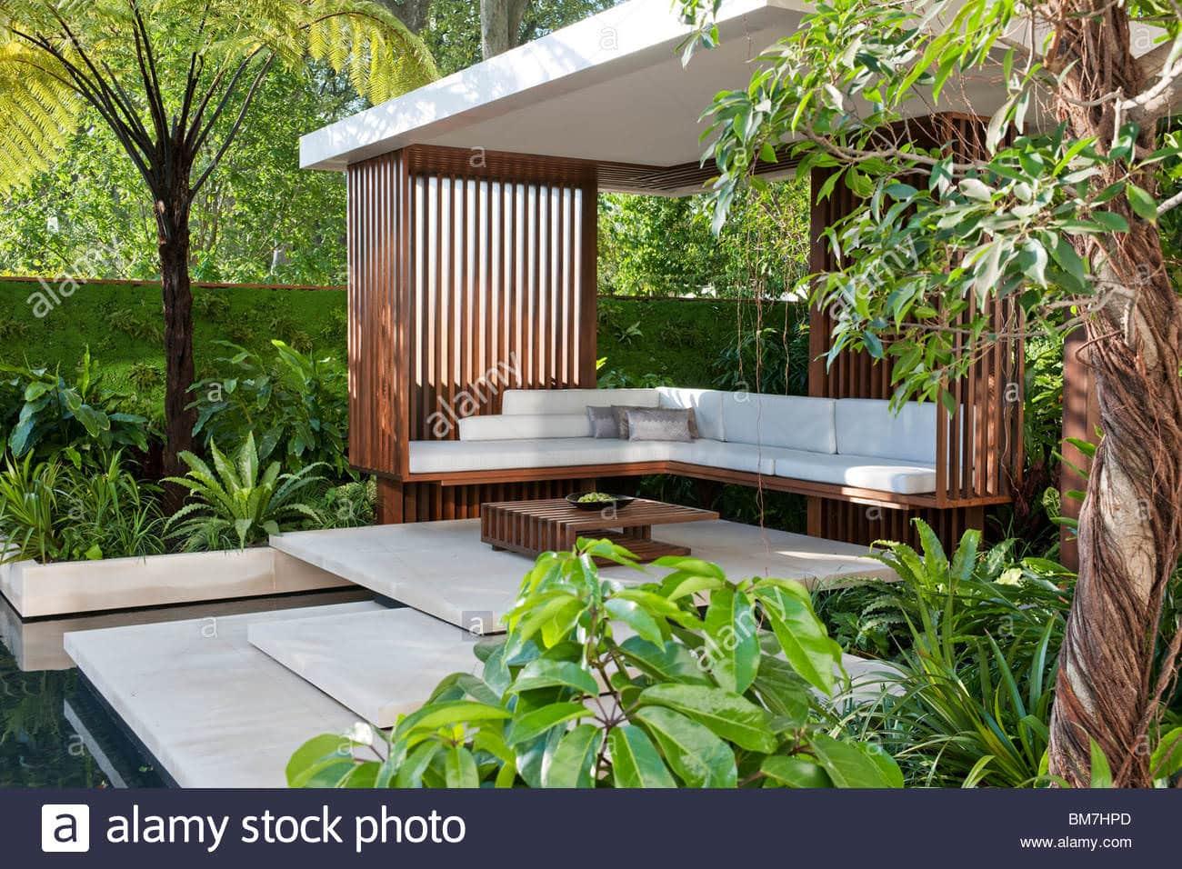 Industrial garden design ideas for Backyard design ideas malaysia