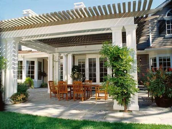 Traditional Outdoor Patio Design