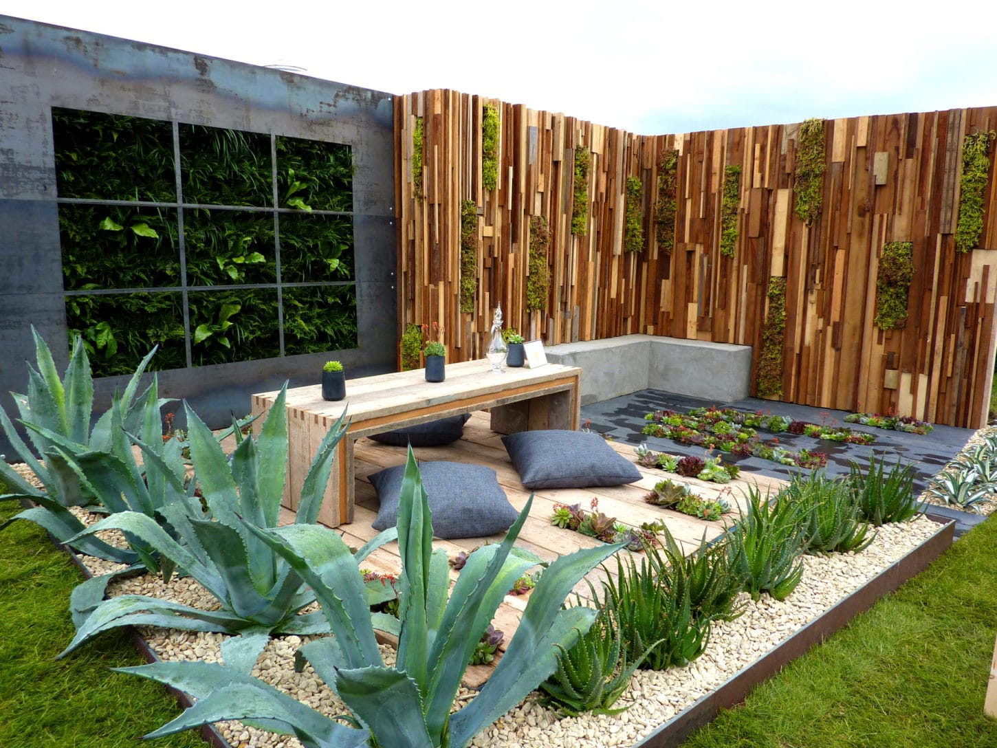 Industrial garden design ideas for Garden designs ideas pictures