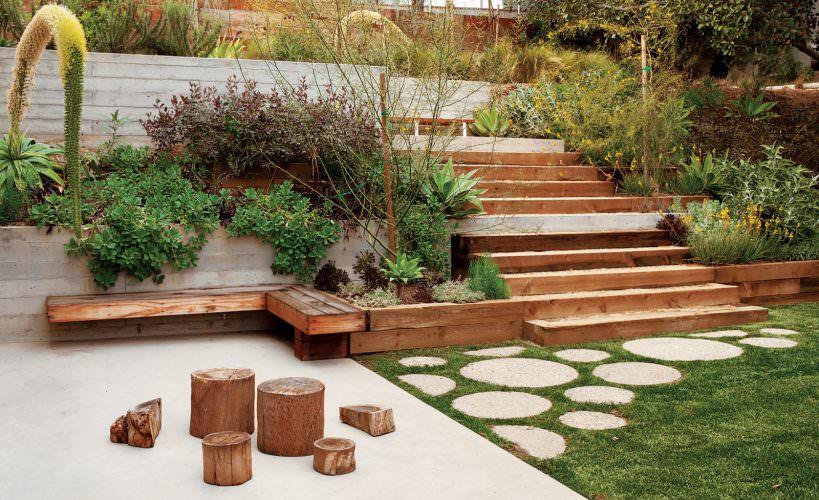Devis Purdy House Backyard Garden