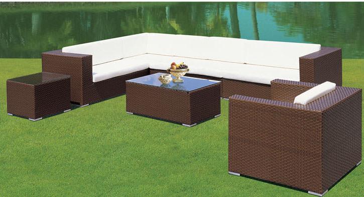 outdoor recreatie tuin l vormige sofa