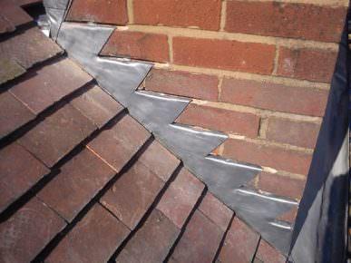 Detail Of Lead Flashing
